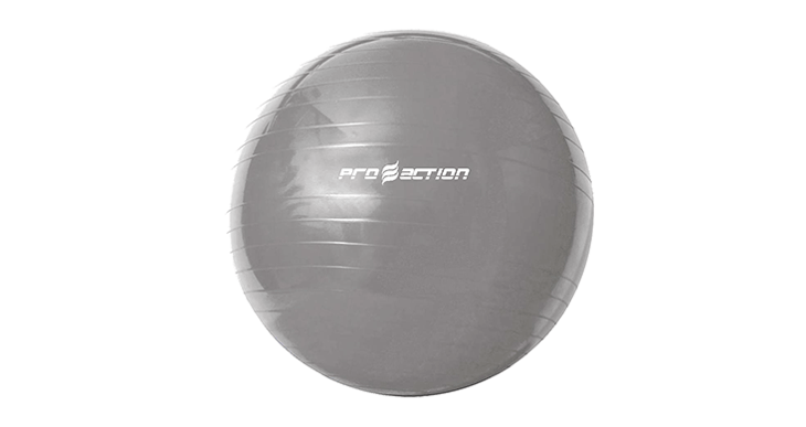 GYM BALL PROACTION – 65CM – CINZA
