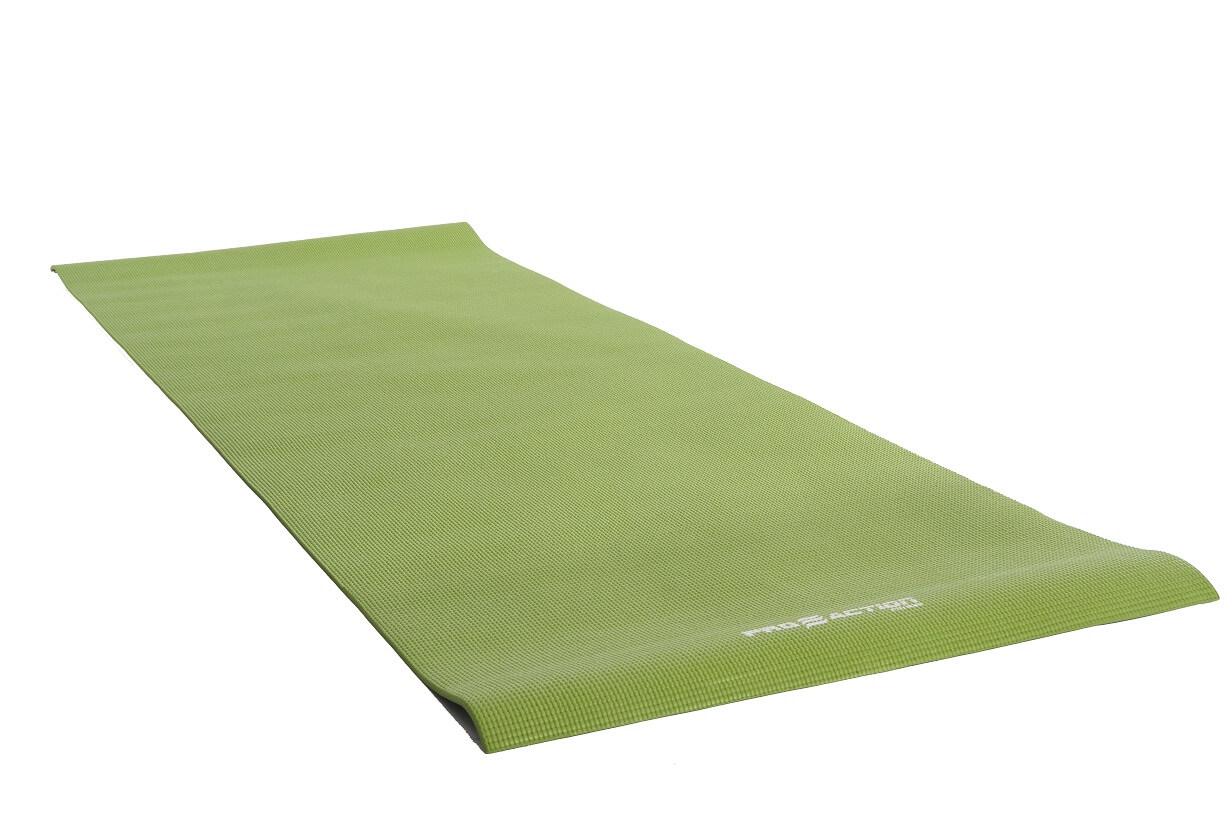 YOGA MAT EM PVC VERDE PROACTION
